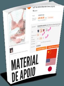 como importar produtos agora material de apoio