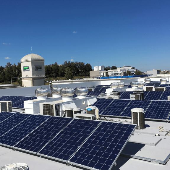 Fotos - Sistema Fotovoltaico - Alphabusiness (Bloco C)