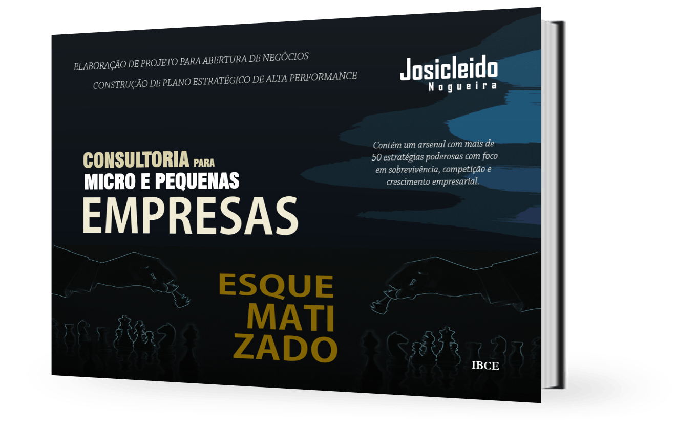 Livro - Consultoria para Micro e Pequenas Empresas - Josicleido Nogueira