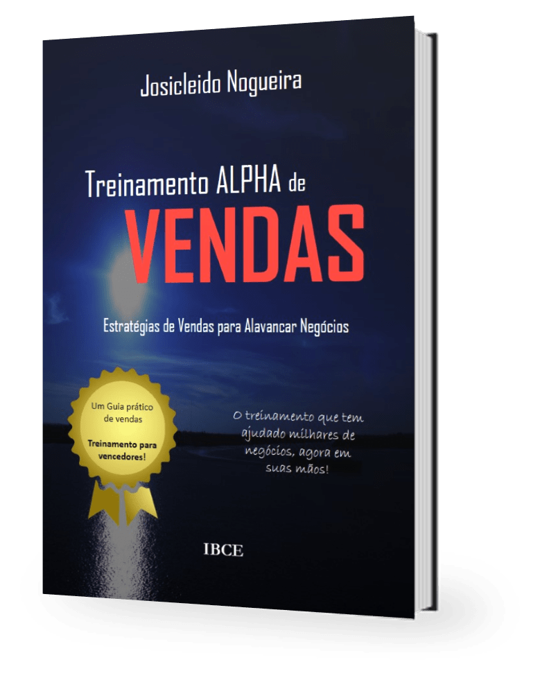 Livro de Josicleido Nogueira - Treinamento Alpha de Vendas