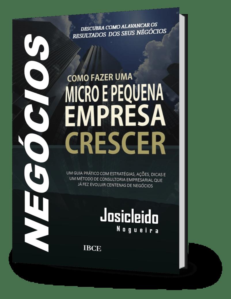 Livro Como Fazer Uma Micro e Pequena Empresa Crescer - Josicleido Nogueira