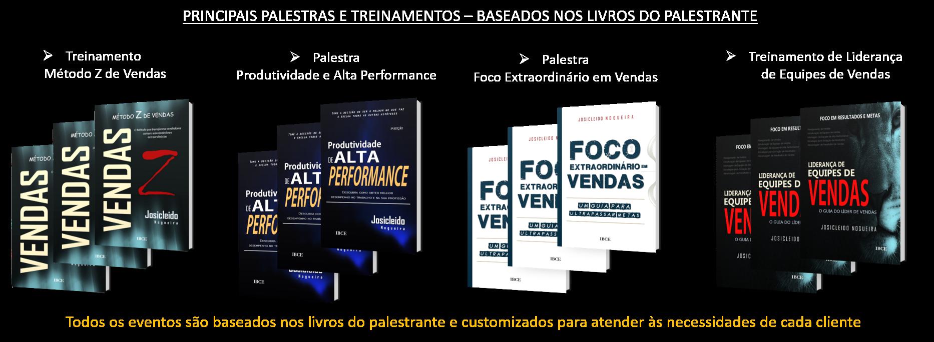 Palestras motivacionais com Josicleido Nogueira
