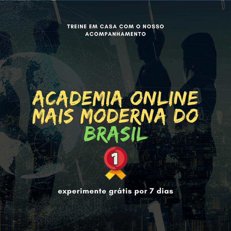 Cartaz de Academia Fitness Tijolo Grunge Preto & Branco